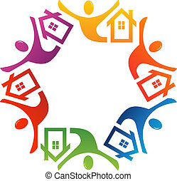 Teamwork Real Estate in 6 colors