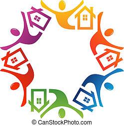 Teamwork Real Estate in 6 colors
