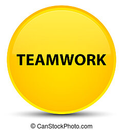 Teamwork special yellow round button