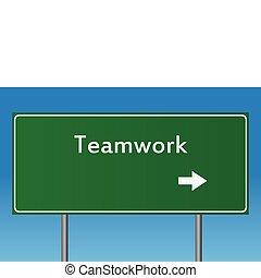 teamwork, tegn
