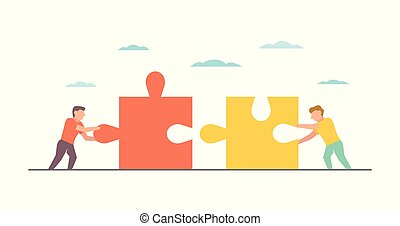 Teamwork Vector illustration for business design and infographic