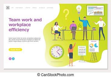Teamwork Workplace Efficiency, Business Seminar