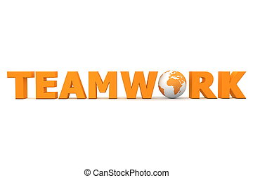 Teamwork World Orange