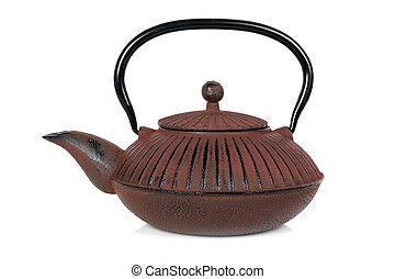 Teapot Isolated on White