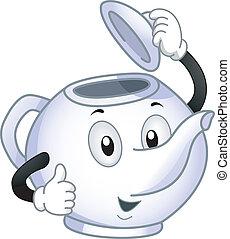 Teapot Mascot