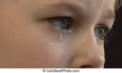 Tear, - Child Abuse,