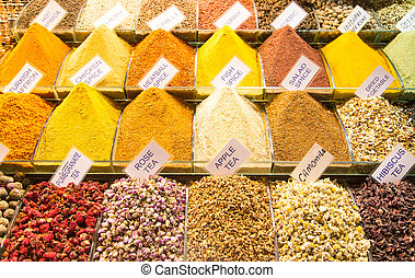 Teas and Spices in Spice Bazaar
