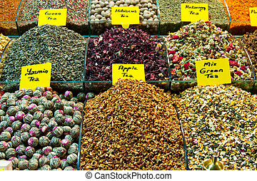Teas from Spice Bazaar, Istanbul