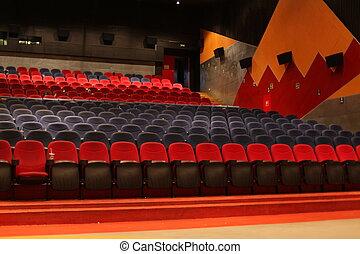 teater, bio