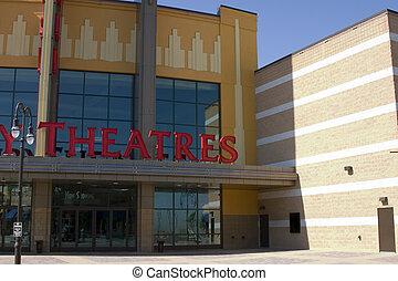 teatr filmu, znak