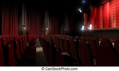 teatr, hala