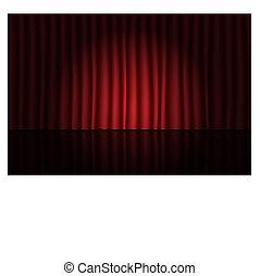 teatr, rusztowanie