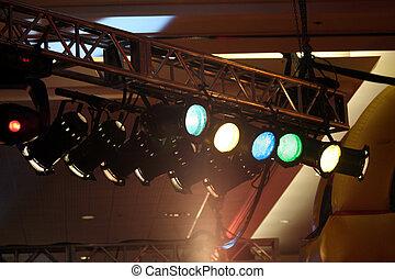 teatral, iluminación