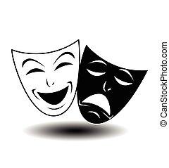 teatro, ícone