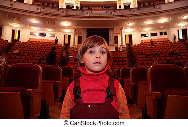 teatro, criança
