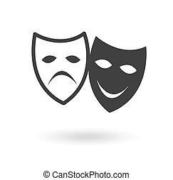 teatro, icono