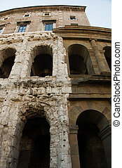 Teatro Marcello ancient and renovated