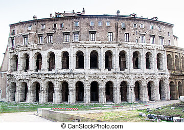 Teatro Marcello theater in Rome