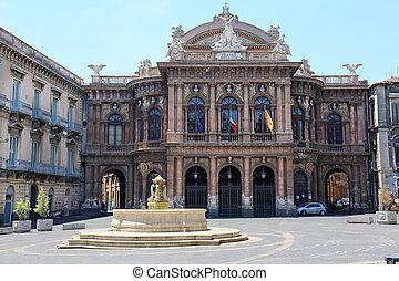 Teatro Massimo Bellini Catania - the Teatro Massimo Bellini...