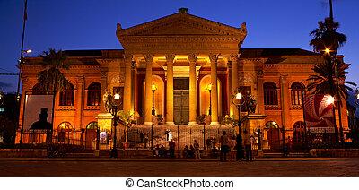 Teatro Massimo, opera house in Palermo