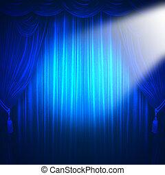 teatro, riflettore