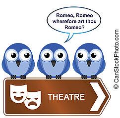 teatro, segno
