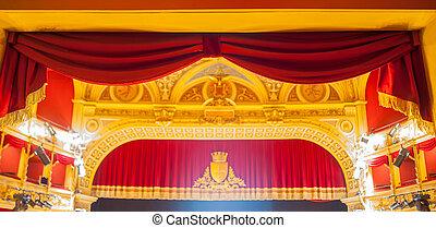 Teatro Verdi, Trieste - View of the Teatro Verdi in Trieste