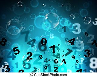 tec, numeriek, hoog, getallen, wiskunde, optredens