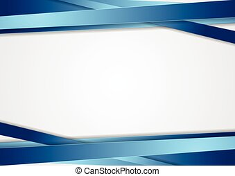 Tech abstract background with blue stripes