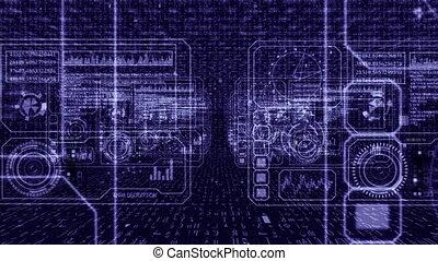 Tech computer panels