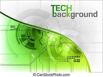 tech, grafické pozadí