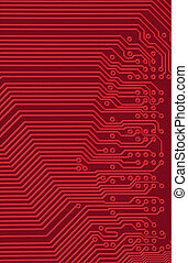 Tech industrial electronic background