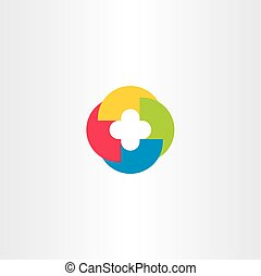 tech logo symbol element abstract