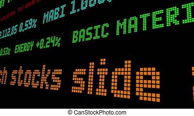 Tech stocks slide as Wall Street goes into reverse