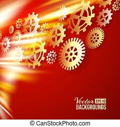 Technical background. Vector illustration.