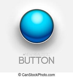 technical blue button push background. Vector illustration design