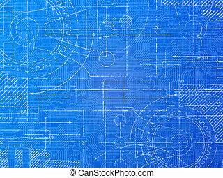Technical Blueprint - Technical blueprint electronics and...