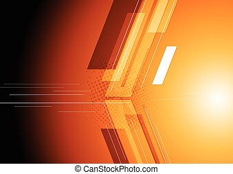 Technical dark corporate background. Vector design