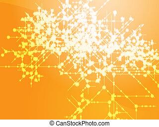 Technical data flow - Illustration of technical data flows ...