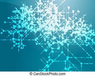 Technical data flow - Illustration of technical data flows...