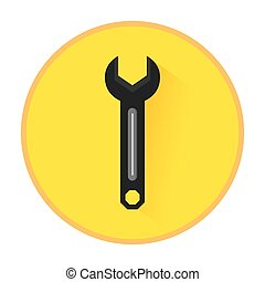 technical service solutions wrench emblem