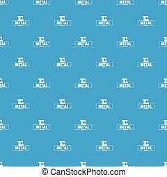 Technician service pattern vector seamless blue