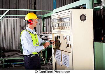 technicien, industriel