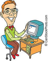 technicien, informatique