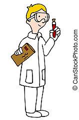 technicien, laboratoire