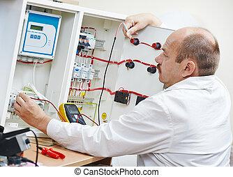technicien, travail, ingénieur