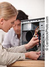 technicus, computer