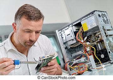 technicus, werkende