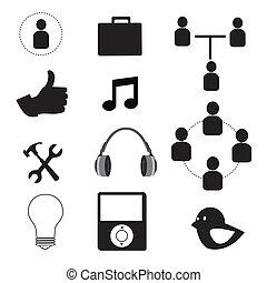 techniczny, ikony