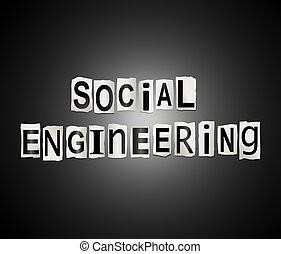 techniek, concept., sociaal